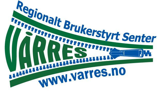 Logo: Vårres regionalt brukerstyrt senter