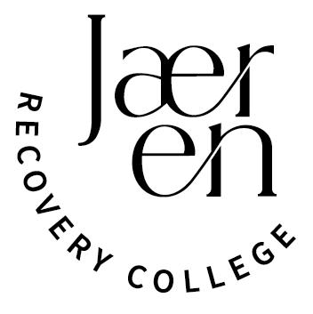 Logo Jæren Recovery College (bilde)