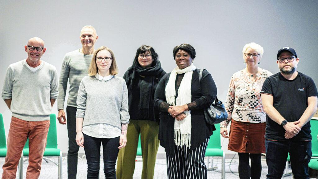 Gruppe på workshop (bilde)