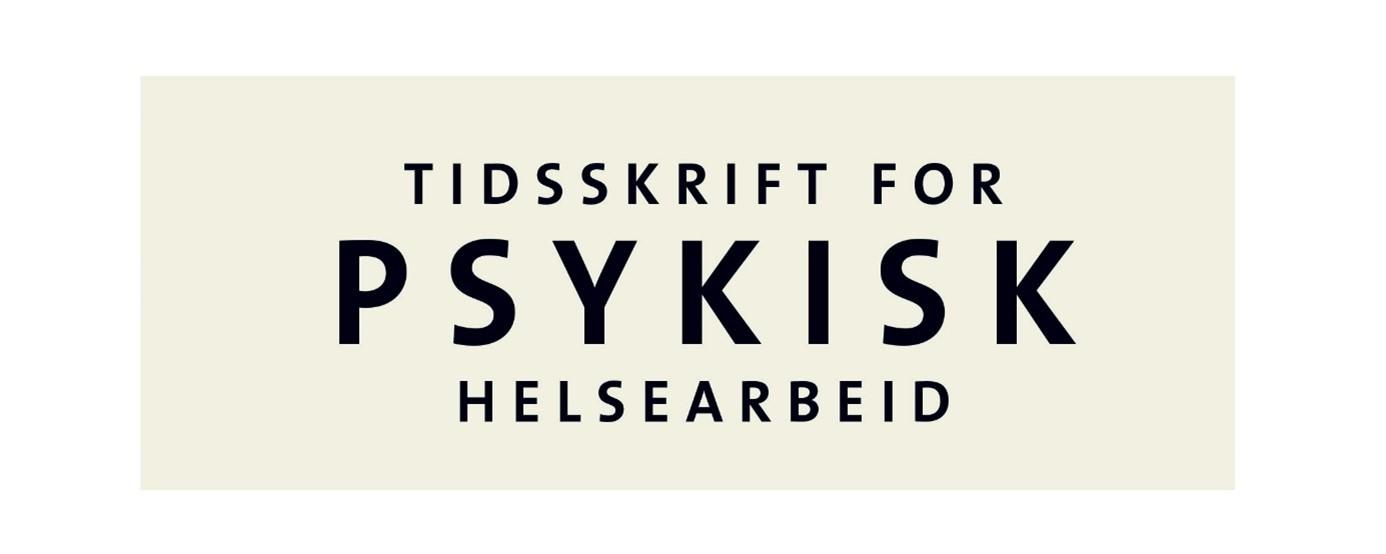 Logo Tidsskrift for psykisk helsearbeid (bilde)